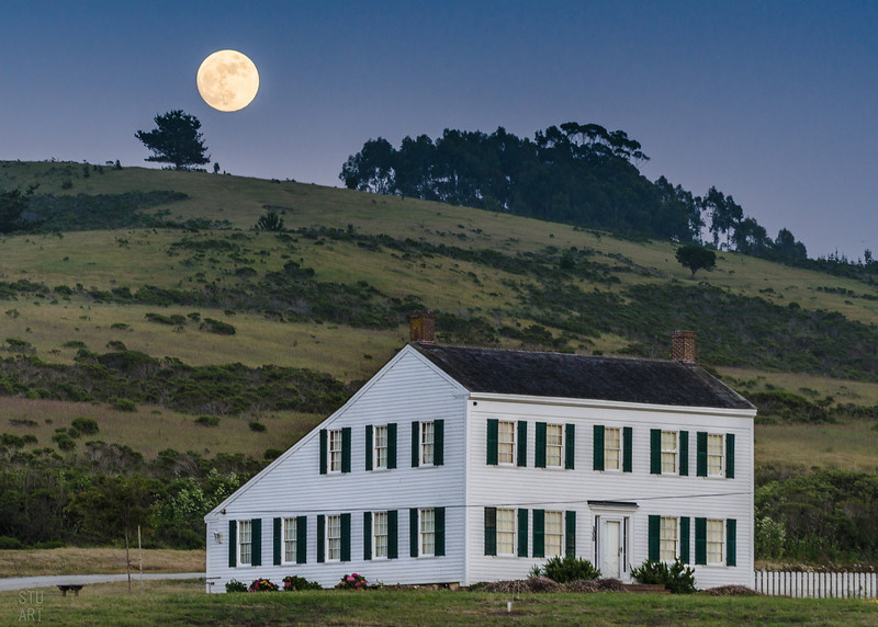 Johnston House Moon