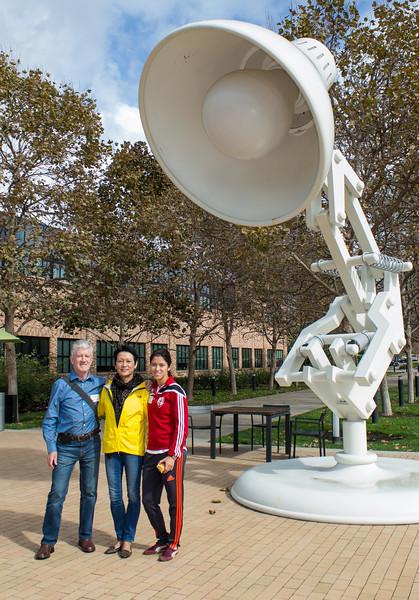 At Pixar Campus