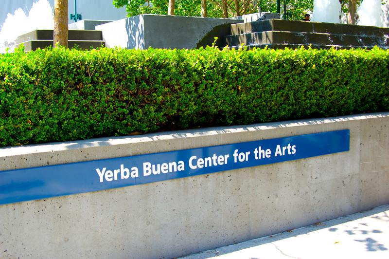 Yerba Buena Gardens, San Francisco CA