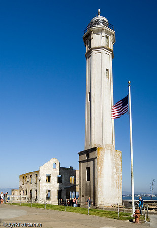 Alcatraz Lighthouse - San Francisco, CA, USA