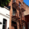 Fire Escape Stairs are Common in San Francisco CA
