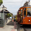 F Trolley Car to Castro Neighborhood in San Francisco CA