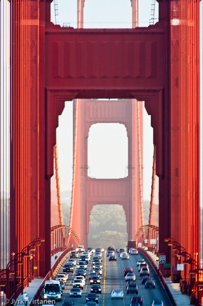 Golden Gate Bridge from Vista Point - San Francisco, CA, USA