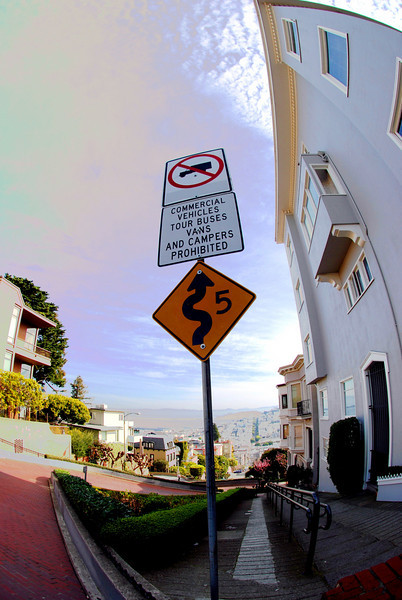 Lombard Street Sign