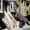 Pretty Victorian Houses in San Francisco CA