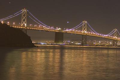 Oakland Bridge SaturatedNot