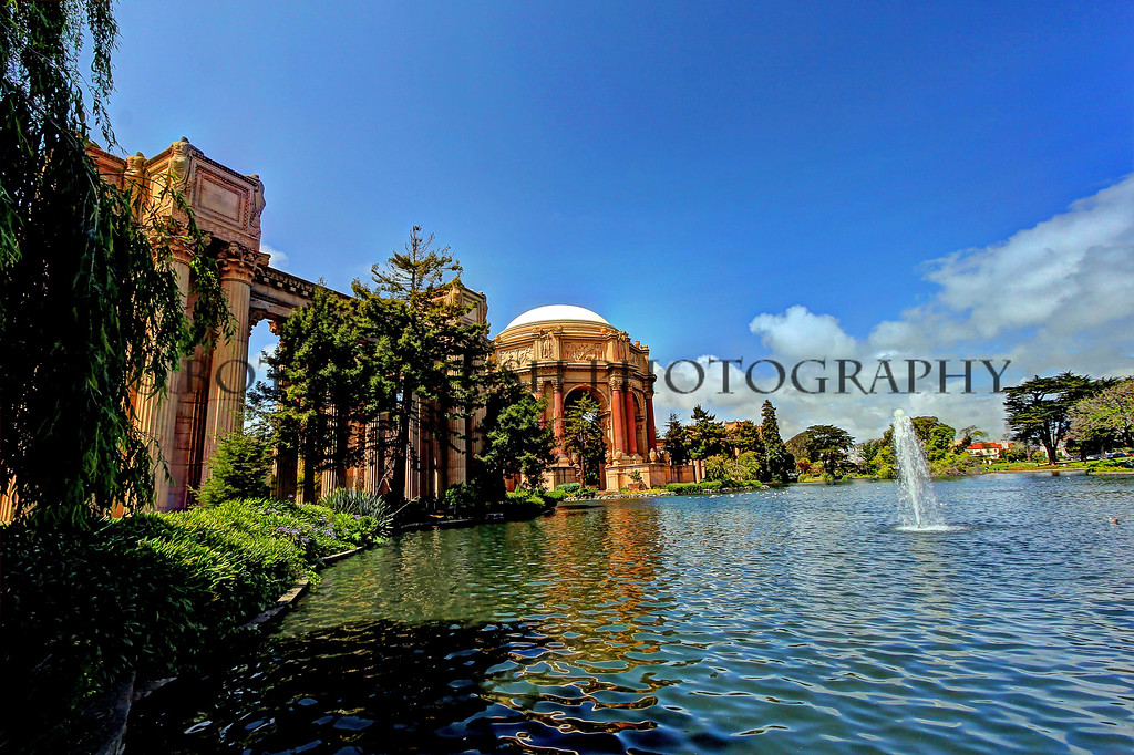 Palace of Fine Arts Theatre in San Francisco, California.