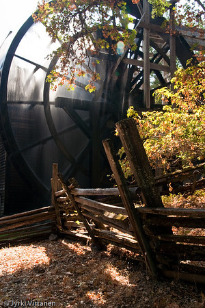 Bale Grist Mill - St. Helena, Napa Valley, CA, USA