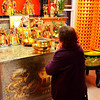 Taking time to Pray in Chinatown San Francisco CA
