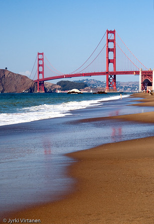 Golden Gate Bridge from Baker Beach II - San Francisco, CA, USA