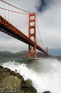 Golden Gate Bridge from Fort Point - San Francisco, CA, USA