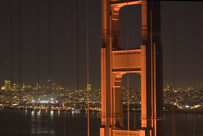 GoldenGate Night