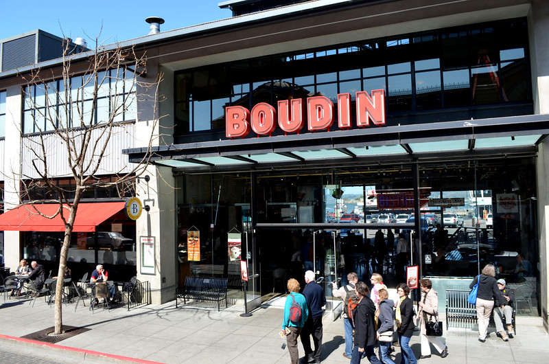 Boudin is where you find Great Sour Dough Bread in San Francisco CA
