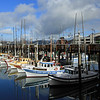 Fishing boats near Fishermans Warf, San Francisco.