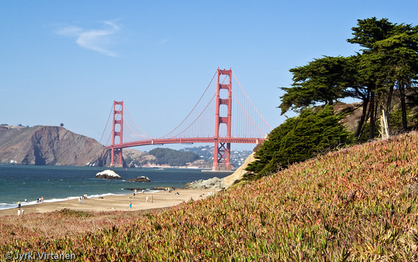 Golden Gate Bridge from Baker Beach - San Francisco, CA, USA