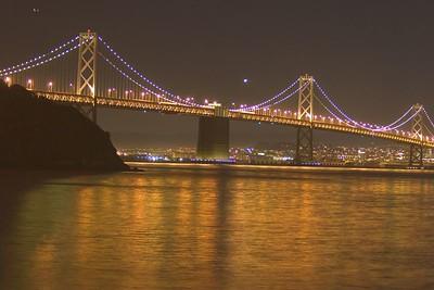 Oakland Bridge Saturated