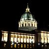 City Hall in San Francisco at Night