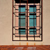 Window at the Art Museum in Santa Fe New Mexico