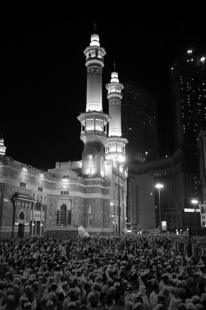 After prayer - Masjid Al-Haram, Makkah