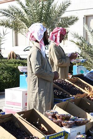 Date sellers - Masjid Quba, Medinah