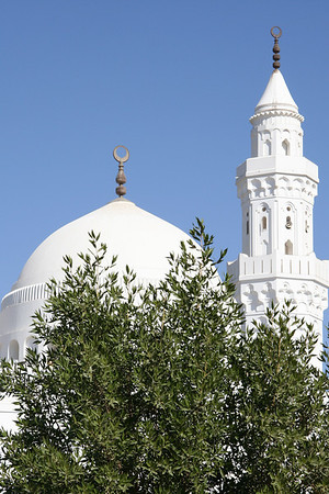 Dome and Minaret - Masjid Qiblatayn, Medinah
