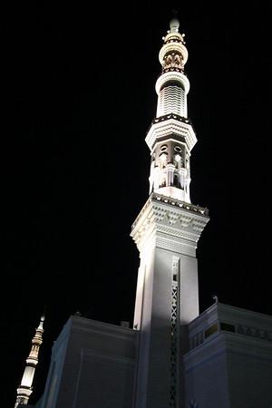 Minarets - Prophet's Mosque, Medinah