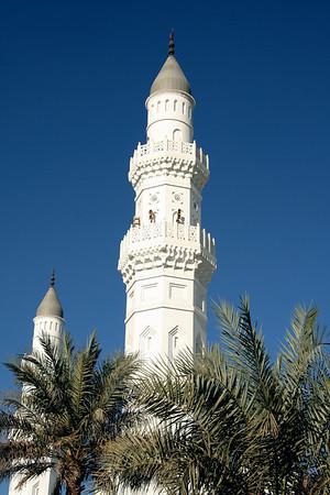 Minarets - Masjid Quba, Medinah
