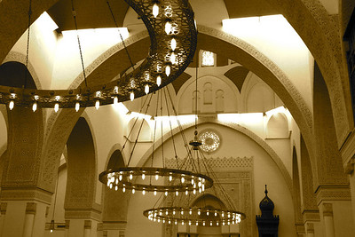 Arches and Lights - Masjid Qiblatayn, Medinah