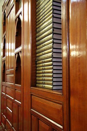 Quran Bookshelf - Masjid Quba, Medinah