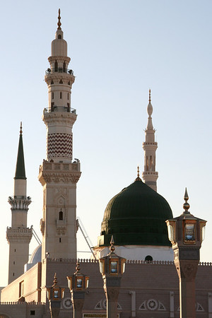 Ottoman section, Prophet's Mosque – Medinah, Saudi Arabia
