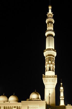 Minaret - Prophet's Mosque, Medinah