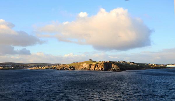 Rough coastline in Norway.