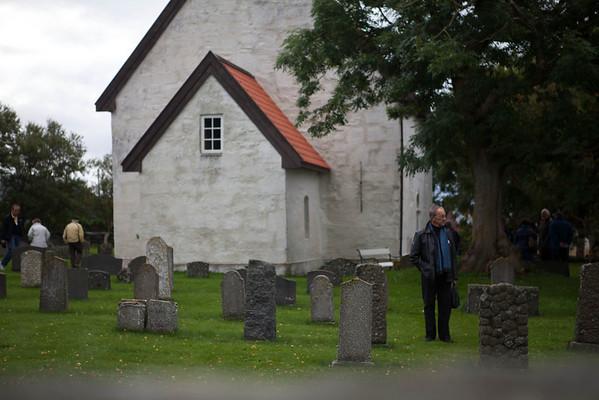 A Alesund, Norway church ground.