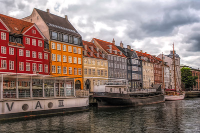 Storm Clouds Over Nyhavn