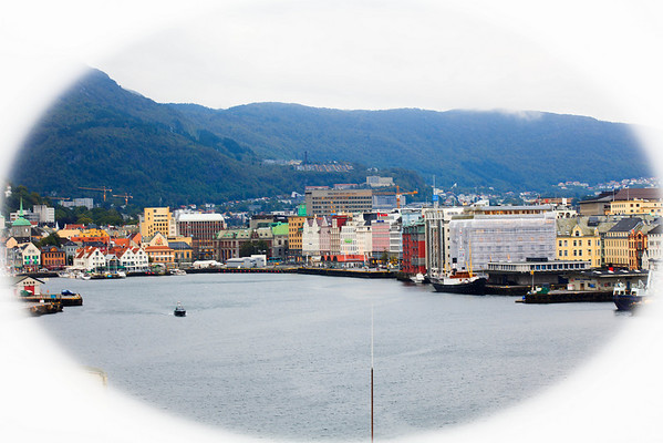 City scape of Bergen
