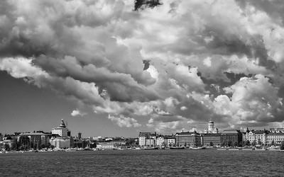 Clouds over Helsinki
