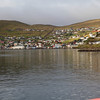 Harbor in the Faroe Islands.