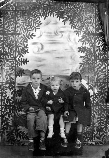 three little hillbilly kids.