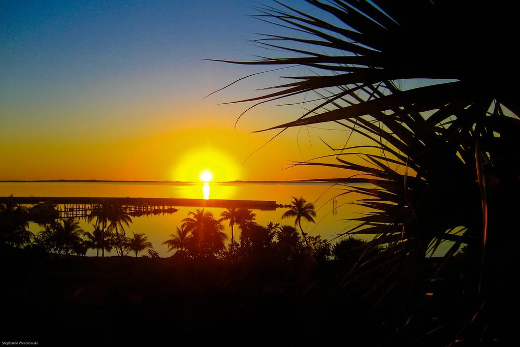 Abaco sunrise, Bahamas