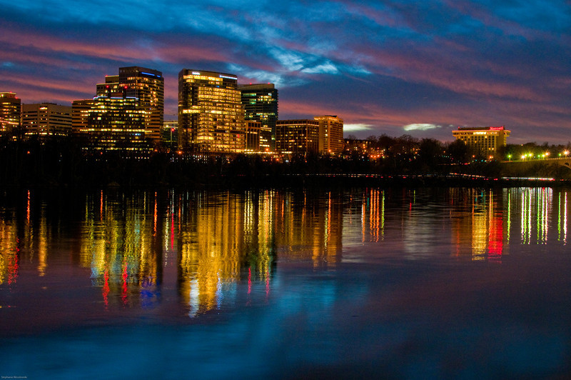 Rosslyn from Georgetown