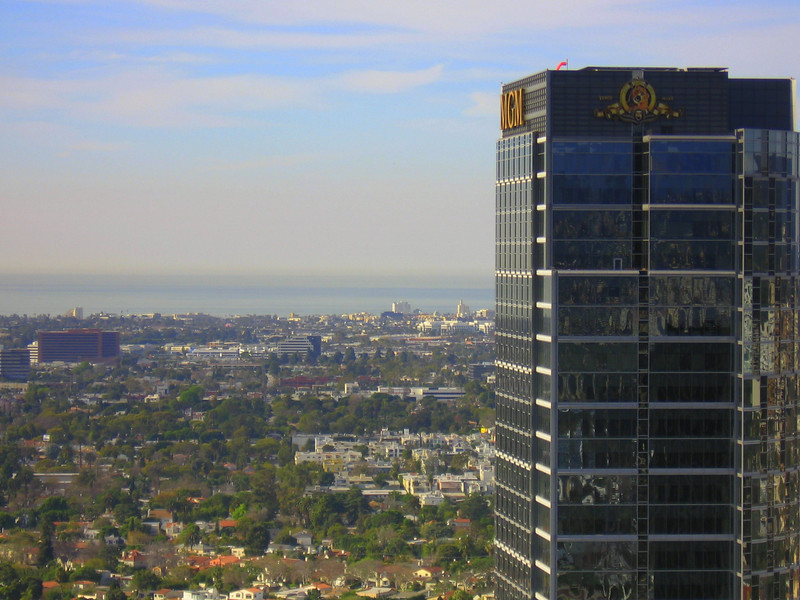 MGM Tower and the Pacific