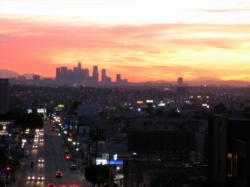 Sunrise Skyline I