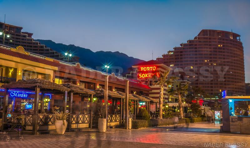 Porto Sokhna Resort at night