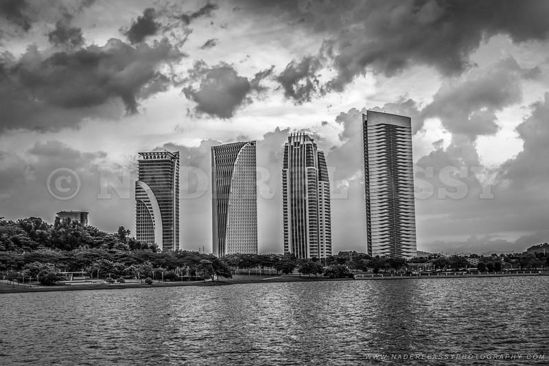 Buildings in Monochrome
