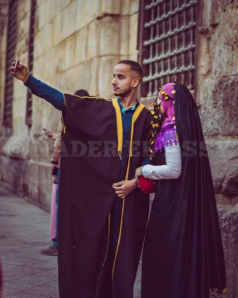 Selfie in Historic Clothing