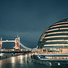 City Hall and Tower Bridge