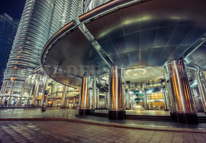 Petronas Gate at Night