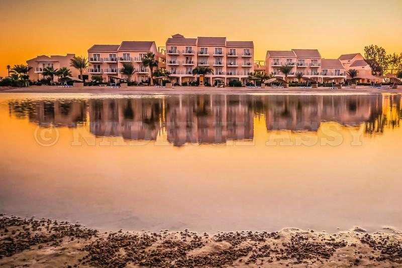 Lakeside Sunset