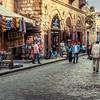 Walking in a 1000 years old street