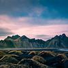 Vestrahorn Colorful Sky